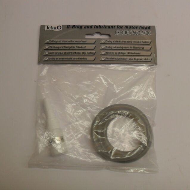 TETRATEC EX 400/600/700 FILTER SEALING 'O' RING. T703365. includes Lubricant