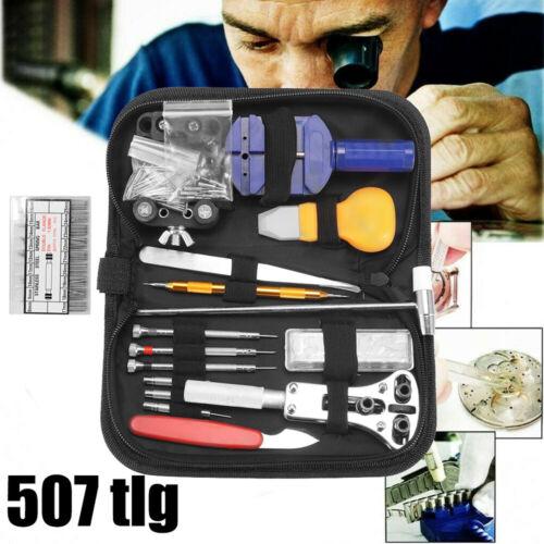 Uhrenwerkzeug Uhrmacherwerkzeug Reparatur Set Mit Nylontasche Tasche 507 Tlg