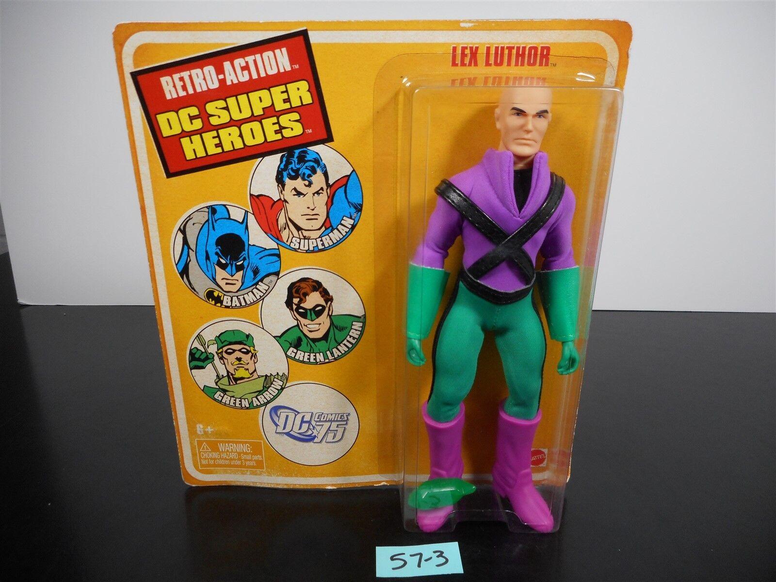NEW & SEALED    Rétro-Action DC Super Heroes Lex Luthor DC COMICS 75 R5934 57-3