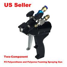 Two Component P2 Polyurethane And Polyurea Foam Spraying Gun Cradt Supplies