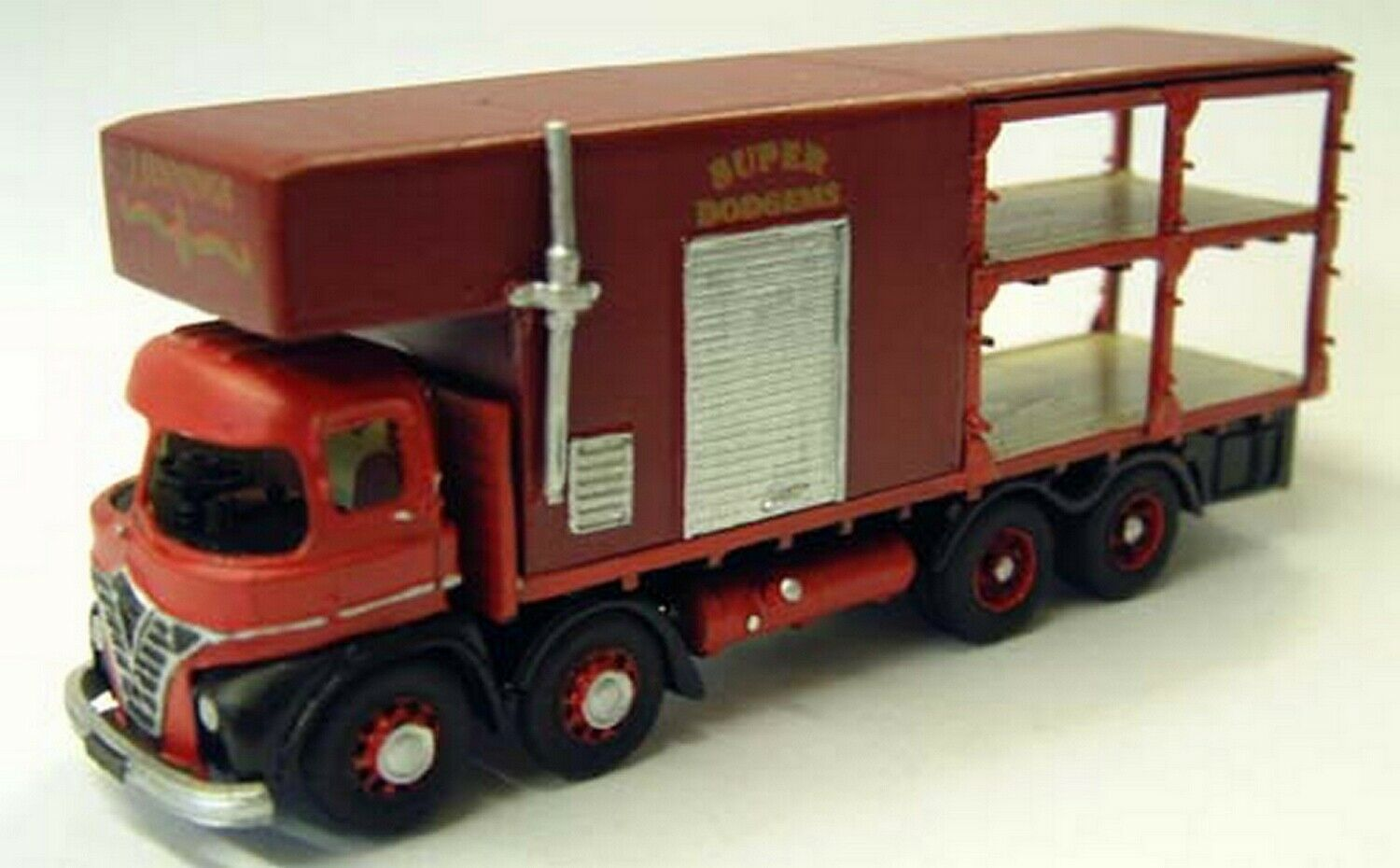 Foden S21 d deck Fairground lorry G105 UNPAINTED OO Scale Langley Models Kit