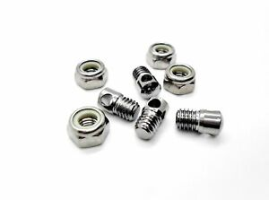 4-Nylock-Bike-Mudguard-Eyelet-Nuts-amp-Bolts-For-Fitting-Cycle-Mud-Guards