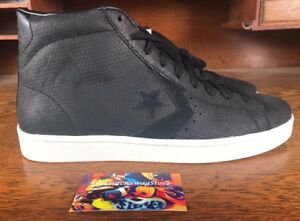 9a9b630343d Converse Pro 76 Mid Mens Black White Athletic Shoe 155647C Sz 10.5 ...