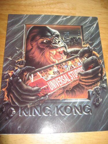 RARE UNIVERSAL STUDIOS KING KONG KONGFRONTATION 2 PHOTO FRAME LOT RETIRED RIDE
