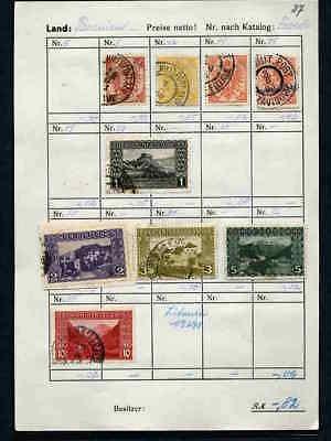 9 Stück Briefmarken Bosnien !!!