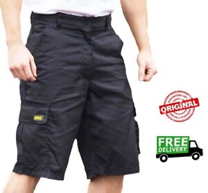 durable in use cheaper sale drop shipping Details about Mens MIG Cargo Work Shorts Size 30 to 42 COMBAT SHORTS in  BLACK or NAVY MIG-500