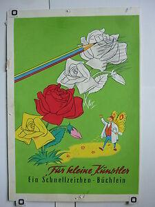 Originalzeichnung Malbuch Fur Kleine Kunstler Titelbild