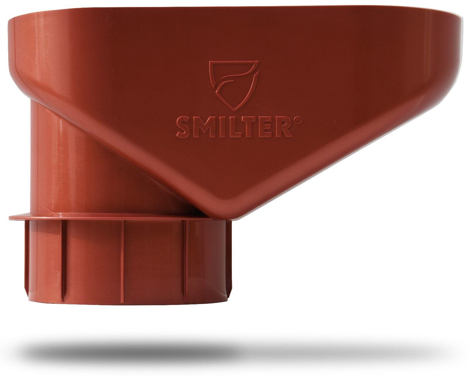 Laubfang SMILTER für Regenfallrohre DN100 in Kupfer - neu und funktioniert