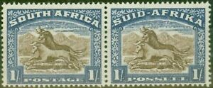 South-Africa-1939-1s-Brown-amp-Chalky-Blue-SG62-V-F-MNH