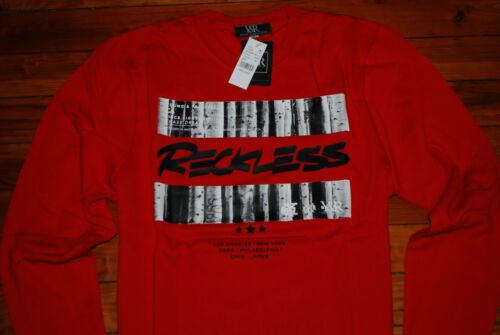 Large, XL NEW Men/'s Young and Reckless Y/&R Red Nocturnal Sweatshirt