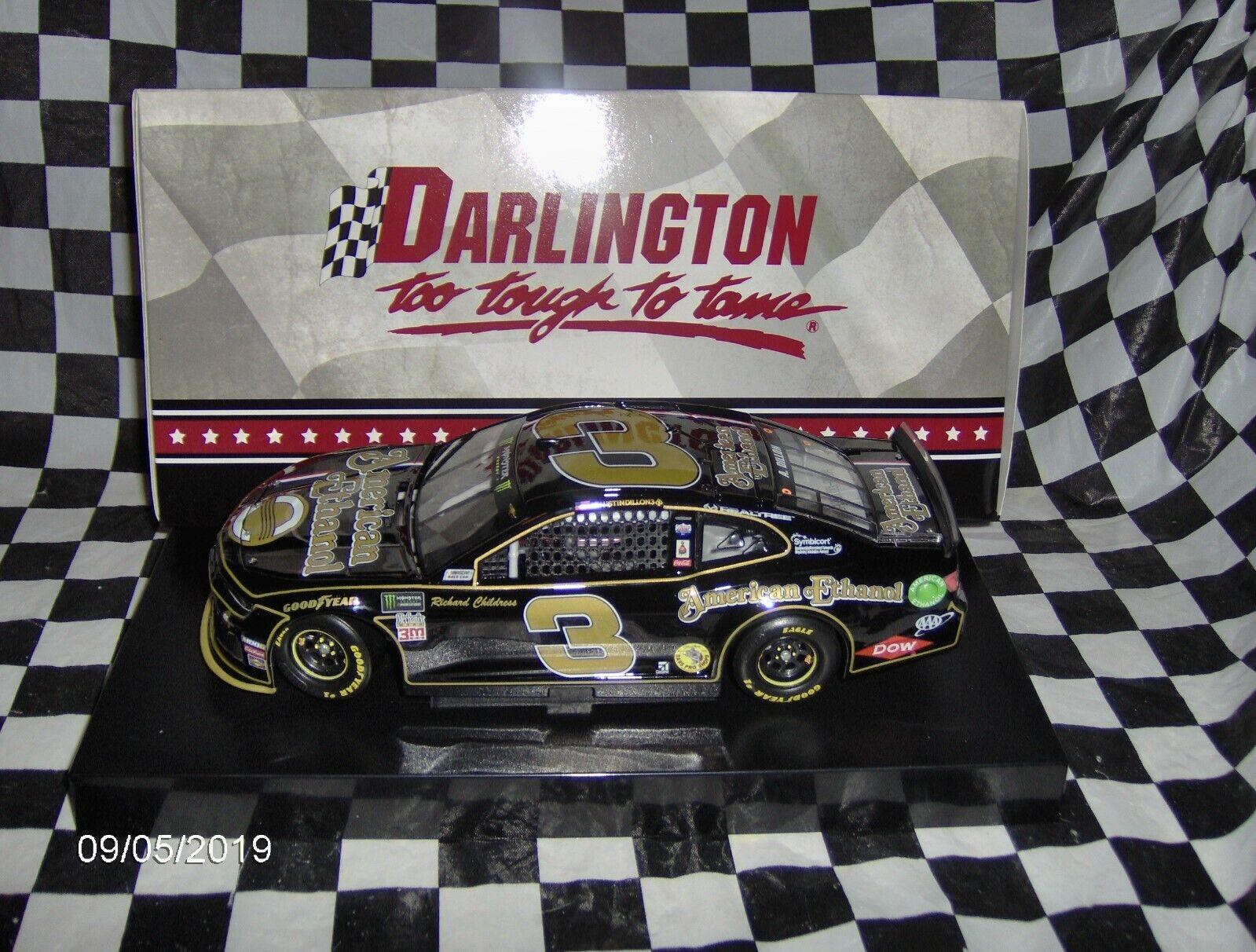 2019 Austin Dillon   3  American Ethanol Darlington 1 24th.