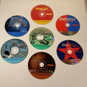 Lot-of-7-CD-Software-Programs-By-Cosmi-Corp-CD-ROM-2000-Web-Page-Creator-etc