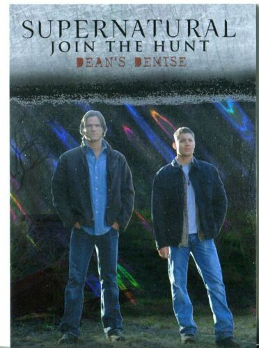 Supernatural Seasons 1-3 Winchester Brothers Mega Moon Lava Parallel J9 Deans