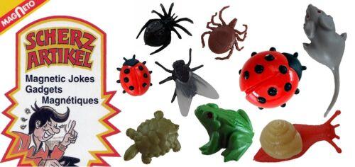 Magneto Krabbeltiere Magic Insects Scherzartikel