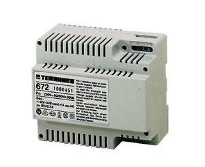 Alimentatore Bticino 672.Details About Bticino Mediterranean 672 Power Supply 6 Din Tersystem For Audio Equipment Show Original Title