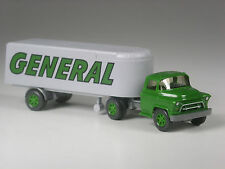TOP: Wiking Sondermodell Chevrolet Sattelzug General grün