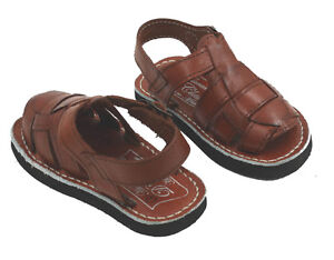 cf15f1fbbcc43e Image is loading KIDS-BABY-TODDLER-AUTHENTIC-HUARACHE-MEXICAN-SANDALS-Style-
