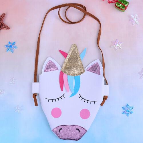 1pc cartoon horse shoulder bag baby woman cute coins keys bag purse party gift H