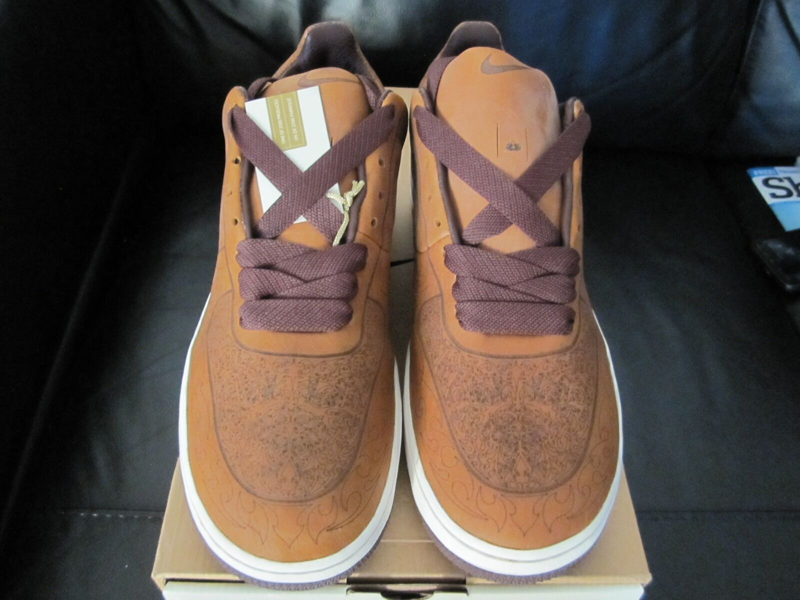 Nike Air Force 1 Smith Laser Pack 2003 Limited Edition by Mark Smith 1 Taille 8 K 9 38b840