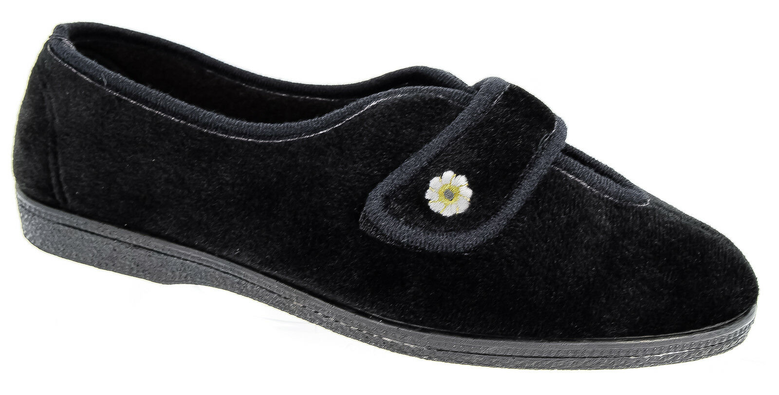 Womens Ladies Wide Fit Slippers / Mirak Sizes 3 to 9