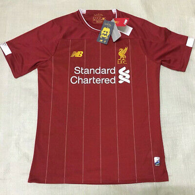 e61add7c New Liverpool Home/Away Jersey Soccer Premier League 2019/20 Football Men  Shirt | eBay