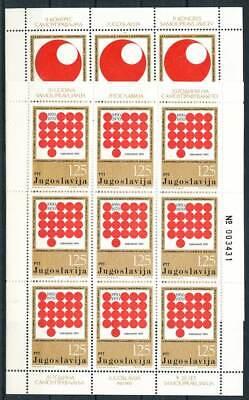 Jugoslawien Klbg Kongreß Der Selbstverwalter Jugoslawien Brillant 243285 Nr.1418-9** 2