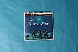 VINTAGE VIEW-MASTER 3D REEL PACKET B383 THE CHRISTMAS STORY SEALED