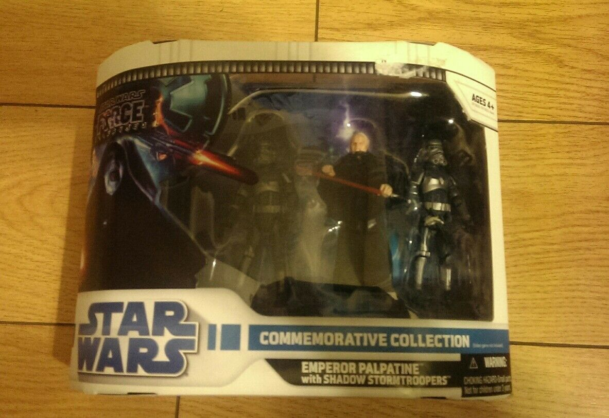 Star Wars Commemorative Collection Emperor Palpatine with Shadow Troopers