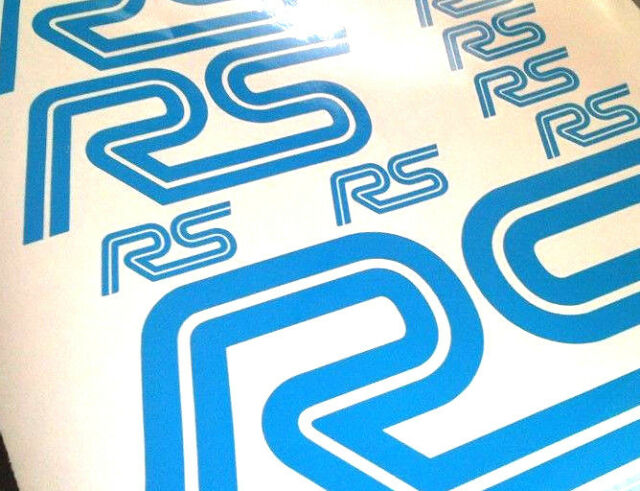 Ford Focus RS Vinyl Sticker Kit Motorsport Decals Rally Vehicle Graphics Racing