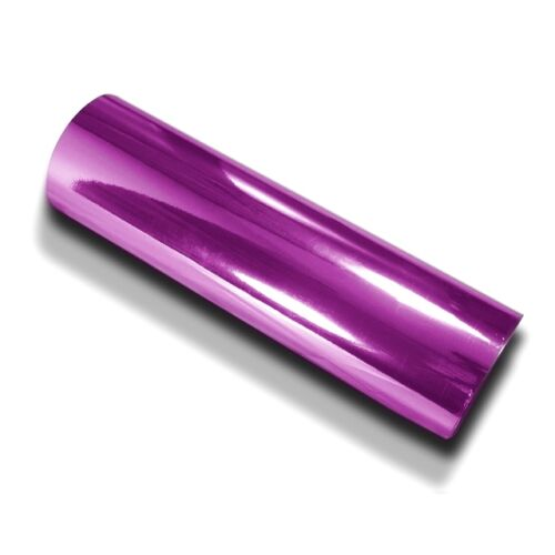 Violet Chrome Design diapositive 152 cm x 100 cm hochglänzend avec gaines