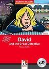 David and the Great Detective, mit 1 Audio-CD. Level 1 (A1) von Martyn Hobbs (2007, Kunststoffeinband)