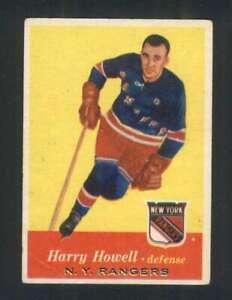 1957-58-Topps-51-Harry-Howell-EX-EX-NY-Rangers-108297
