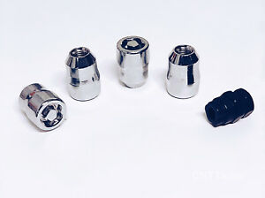 14x1.5 Chrome Socket Lug Nut Wheel Locks for Dodge Ford Mustang Acura MDX LS500