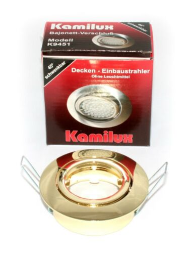 Kamilux ® installation projecteur Bajo DEL de plafond-spots Step-variateur 230 v Installation-Lampes