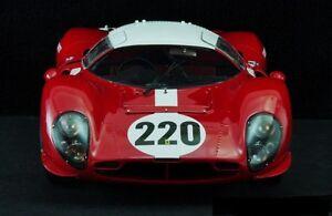 Vintage-Ferrari-24-Race-Sport-Car-GT-Concept-Rare-12-F-1-18-Exotic-Racer-GP-43