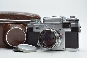 [MINT IN CASE] Zeiss Ikon Contax IIIa Film Camera w/ Sonnar 50mm F/1.5 Lens