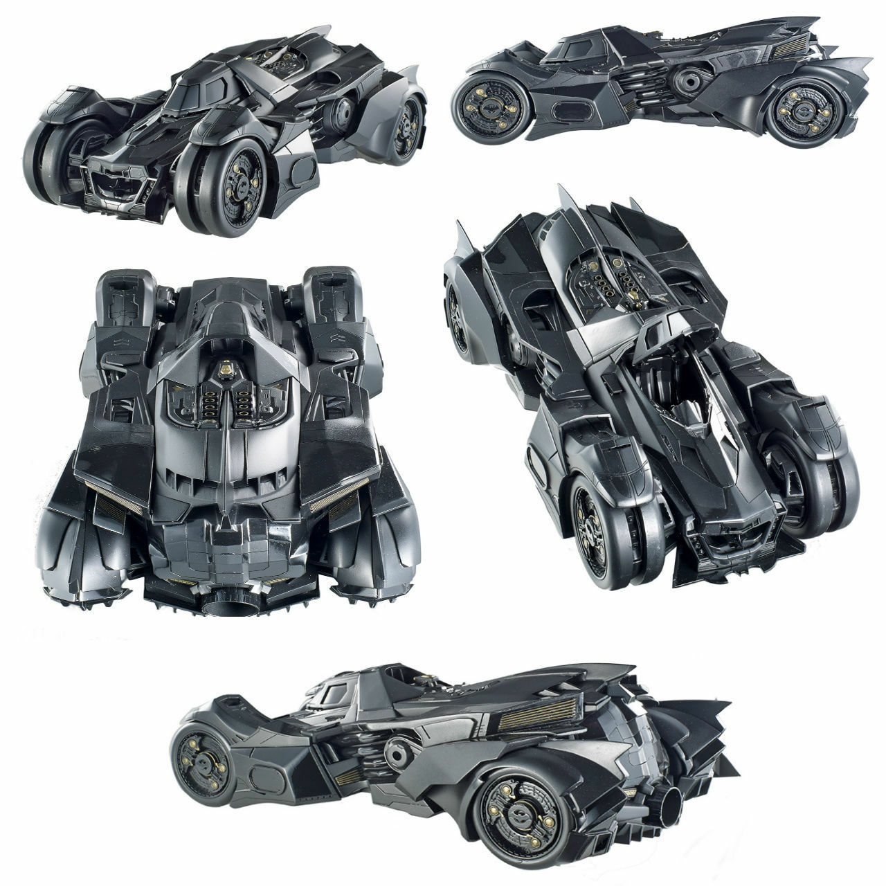 1 18 Hot Wheels Elite Batman Arkham Batmobile Car Model Bly23