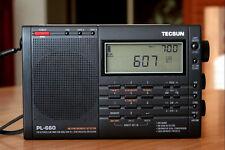 Neu Weltempfänger TECSUN PL660 AIR/SSB/PLL DUAL CONVER/MULTI BAND RADIO