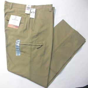 Dockers-Crossover-D3-Classic-British-Khaki-Flat-Front-Cargo-Pants