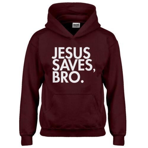 Hoodie Jesus Saves Bro Youth Sweatshirt #3077