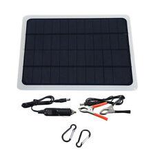 20w Car Solar Panel 12v Trickle Charge Battery Charger Kit Maintainer Boat Rv