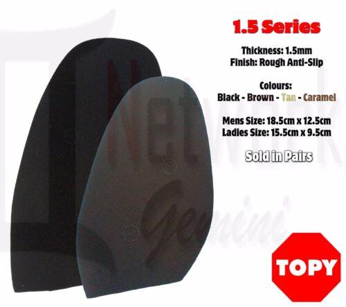 SHOE REPAIR 1.5MM Industrial Grade TOPY Soles Mens Ladies shoes Rubber Soles