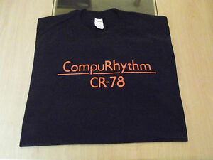 RETRO-T-SHIRT-SYNTH-DESIGN-COMPURHYTHM-CR-78-DRUM-MACHINE-S-M-L-XL-XXL