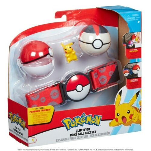 Clip de Pokemon POKE BALL JUEGO DE CINTURÓN N /'GO-Pikachu
