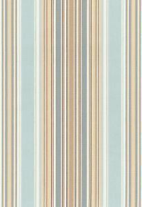 Schumacher Organic Cotton Upholstery Fabric Ridge Stripe Mineral 3 0