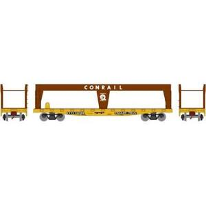 Athearn-RND74436-ROUNDHOUSE-HO-scale-50-039-Double-Deck-Auto-Loader-Conrail-140199