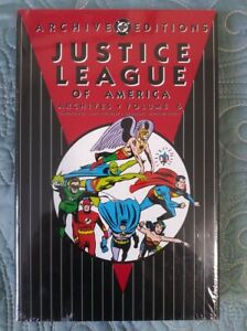 NEW-DC-ARCHIVES-JUSTICE-LEAGUE-OF-AMERICA-JLA-Volume-6-Hardcover-SEALED