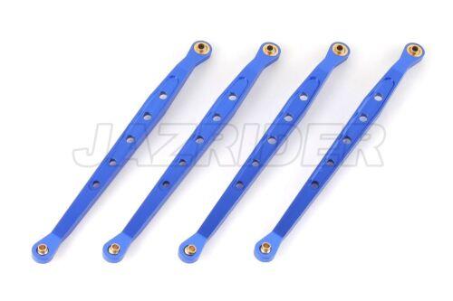 Set Pour Axial Wraith//AX10//RR10 Jazrider Aluminum Inférieur Suspension Liens bleu