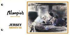 JERSEY PRESENTATION PACK 1986 ARTISTS VII BLAMPIED MNH SG 397-401