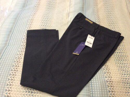 Next Homme Slim formelle Anthracite-Pantalon-W34-31 L-BNWT-pas de plis RRP £ 30